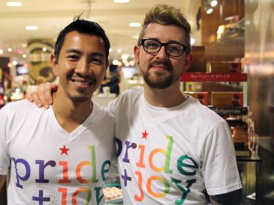 Macy's Pride Event 2014.