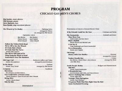 CGMC First Concert.