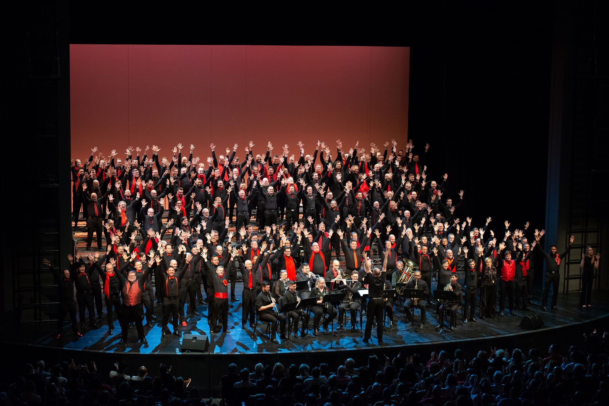 The Chicago Gay Men' s Chorus is celebrating the holidays with disco