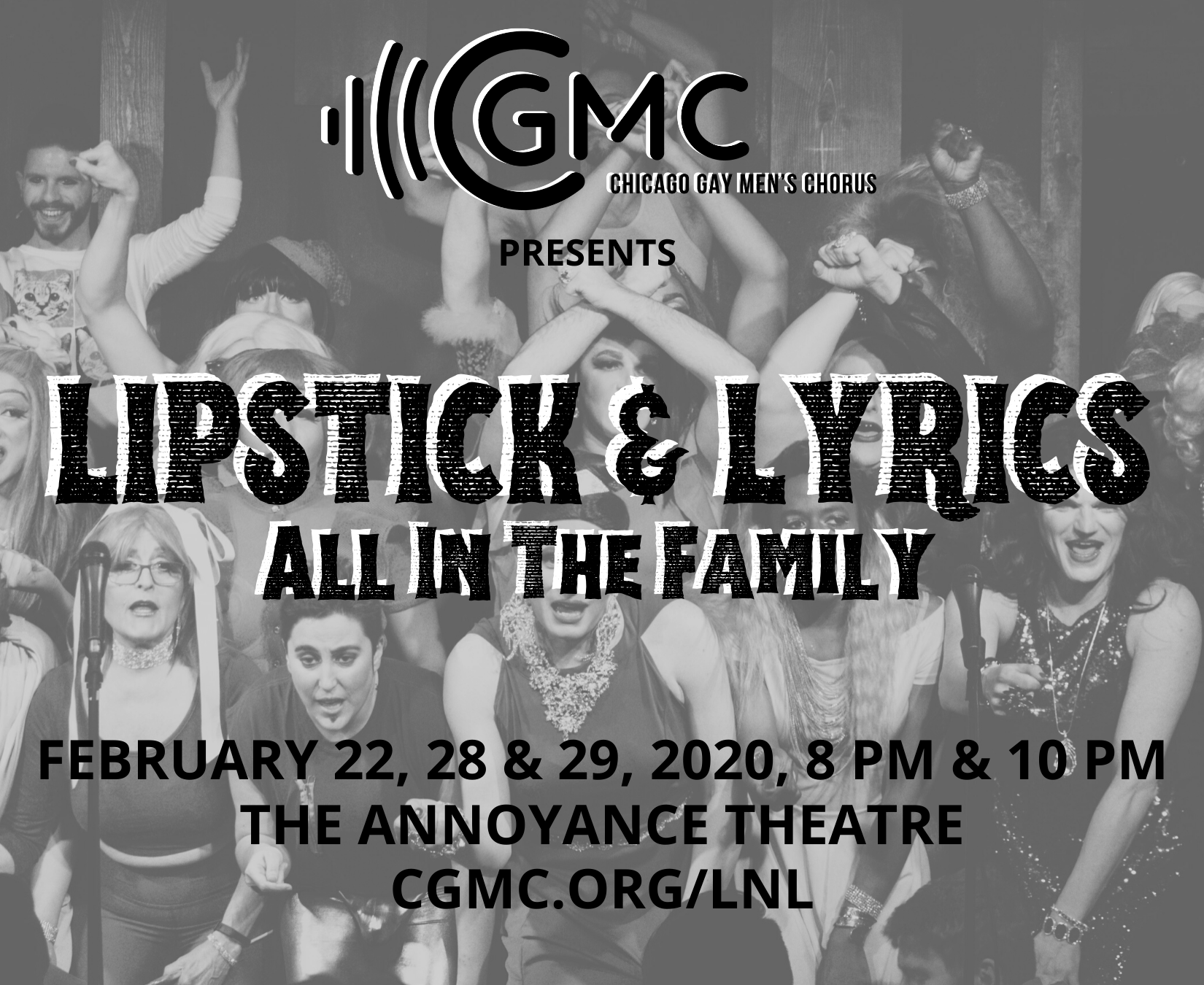 Lipstick & Lyrics: All In The Family @ The Annoyance Theatre